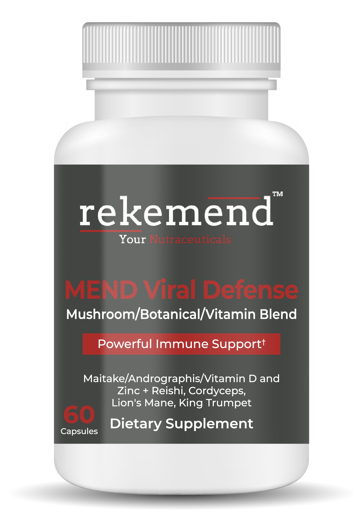 Mend Viral Defence - Mushroom Immunity Supplement