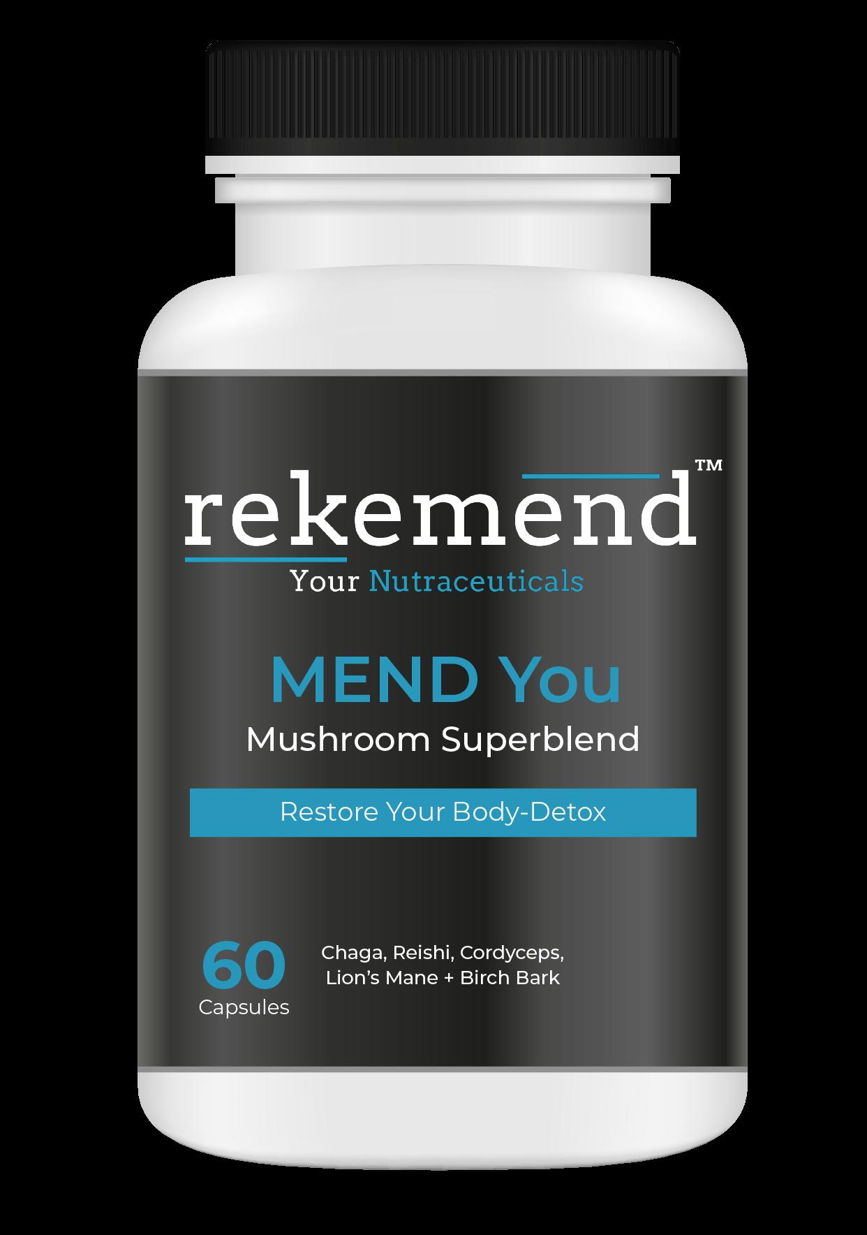 Mend You Mushroom Vitamin Supplement
